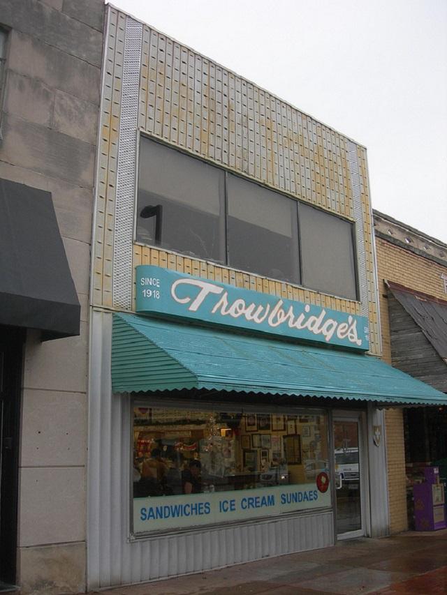 1.) Trowbridge's Ice Cream Bar - Florence