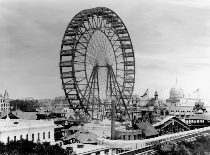 1. The first ferris wheel was invented by Pittsburgh bridger-builder, George Ferris, in 1892 for the Chicago World's Fair.