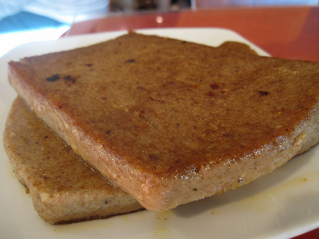 12. Scrapple: you either love it or hate it, and if you don't know what it is, you don't want to find out.