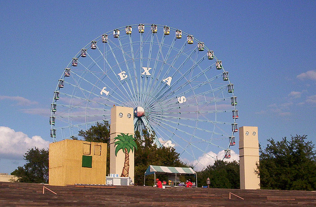 10) The Texas Star ferris wheel at the Dallas State Fair is the largest ferris wheel in the Western Hemisphere. (Do you need any more proof that everything's bigger in Texas?)