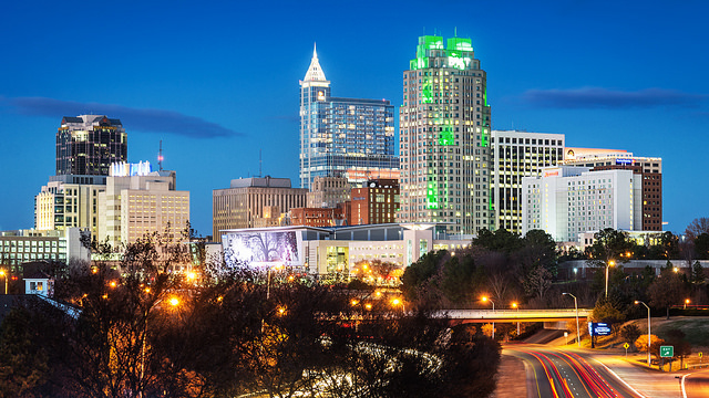 12. Speaking of...that Raleigh and Charlotte are alike.