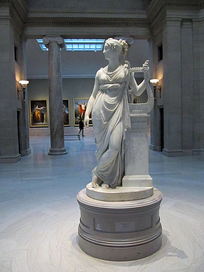 2) Visit the Cleveland Museum of Art, where viewing fine art is free of charge.