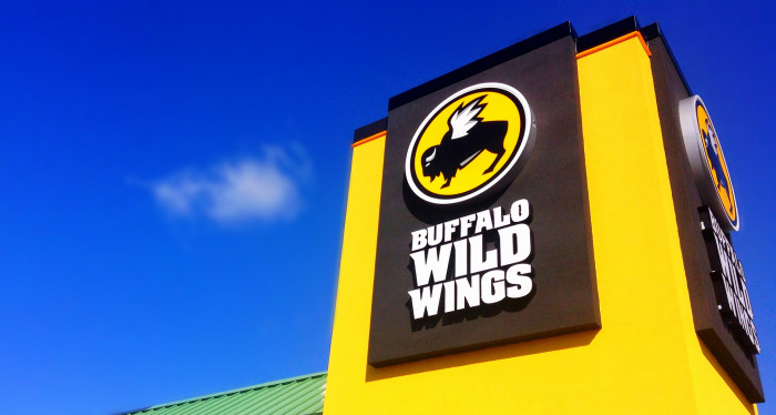 7) B-Dub's = BW3's = Buffalo Wild Wings.