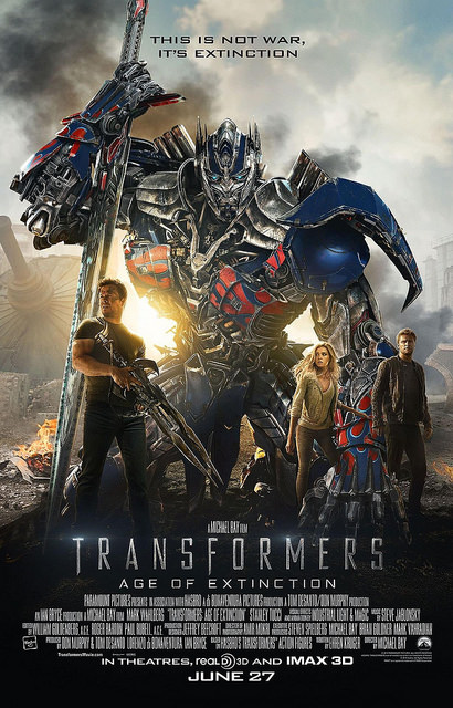 5) Transformers: Age of Extinction (2014)