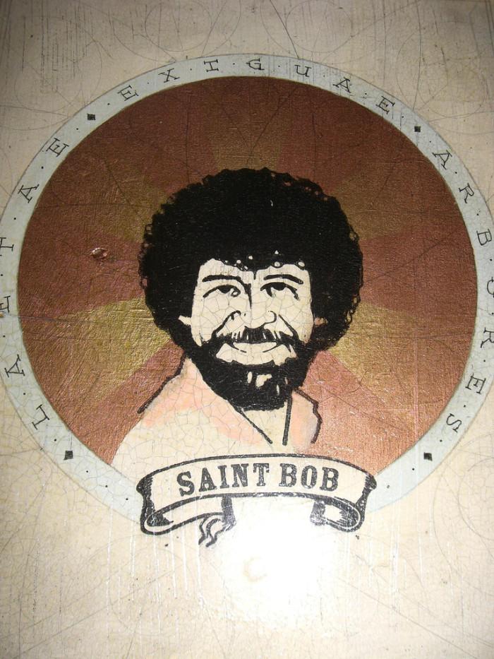 9. Bob Ross