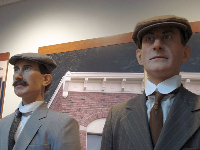 7) The Wright Brothers: Because they taught us to fly, and fly high.