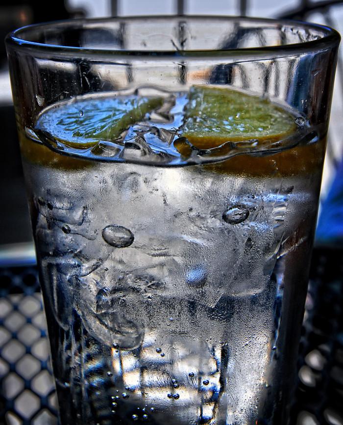 6. Imitation Mineral Water