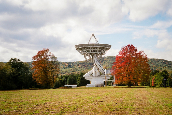 5) The Robert C. Byrd Green Bank Telescope is located in Green Bank, WV.