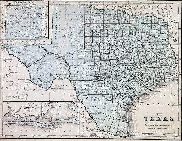 7) Texas is both the second largest and second most populous state in the U.S.