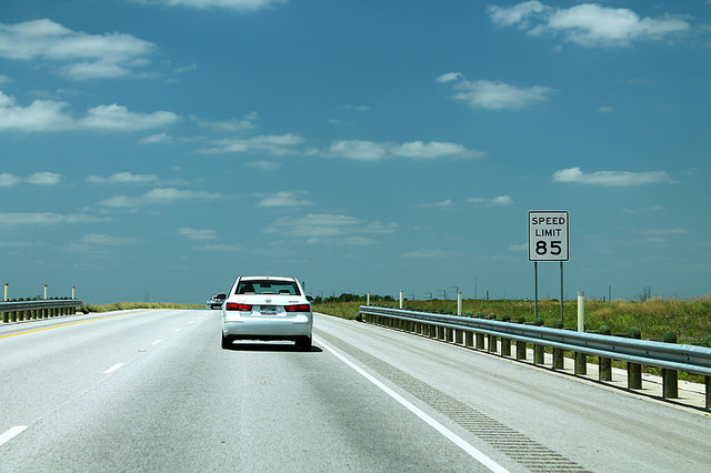 6) Nowhere else in the country can you go this fast on the highway.