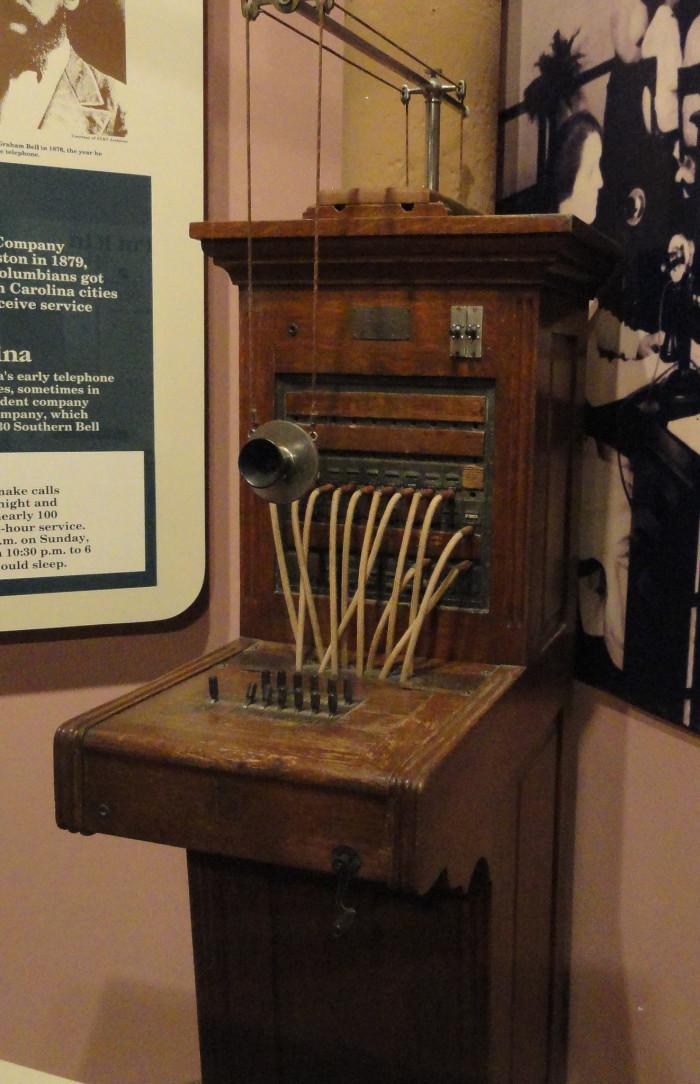 15. Comporium Telephone Museum