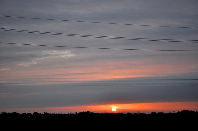 3) Sunrise in Sugar Land, TX