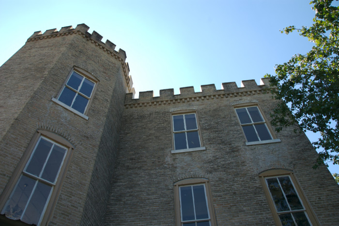 6) Texas Military Institute Castle: now supposedly used as an office for a real estate developer in downtown Austin, this hill country castle dates all the way back to the 1870s. Although it has historical markers on the property, it's not open to the public for tours. You can still get a good view of it from 12th Street, opposite of Lamar Blvd, though.