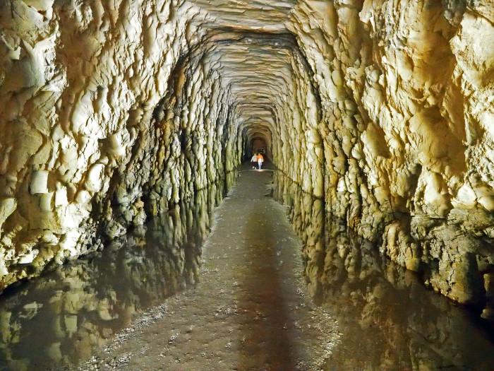 21. Stumphouse Mountain Tunnel