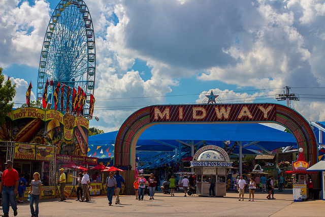 1) The Texas State Fair. I mean, where else can you get that much fried food?