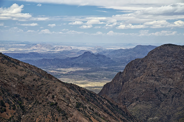 12) Big Bend National Park, home to four waterfalls, soaring mountains, hot springs, canyons, and magnificent wildlife.