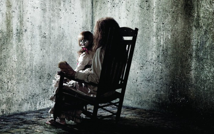 2. The Conjuring is set in the 1970's. The movie follows two paranormal investigators, Ed and Lorraine Warren, who are attempting to help Carolyn and Roger Perron with a dark haunting in their home.