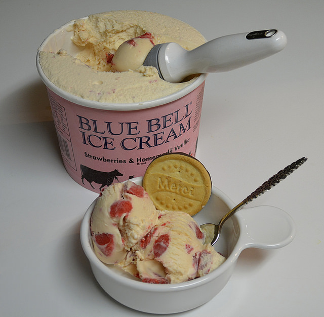 7) This delicious ice cream originated in a little central Texas town called Brenham, and it's only sold directly in 23 states. Hopefully you live in one of them, otherwise, just go ahead and move to Texas. That's the easiest, best solution, anyway.