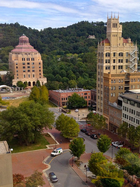 3. Or spice it up and take a long weekend in Asheville.