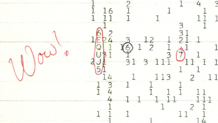 2) The Wow! Signal
