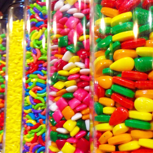 4) One of the world's largest candy stores, b. a. Sweetie Candy Company, can (thankfully, wonderfully and beautifully) be found in Cleveland.