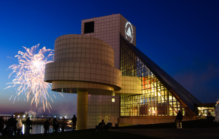 1) The Rock and Roll Hall of Fame in Cleveland is probably the coolest thing music enthusiasts from Ohio can boost about.