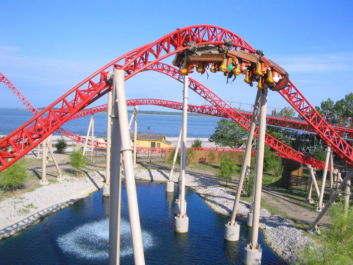 6) Cedar Point in Sandusky is, literally, the Roller Coaster Capital of the World and has been deemed the Word's Best Amusement Park for multiple years.