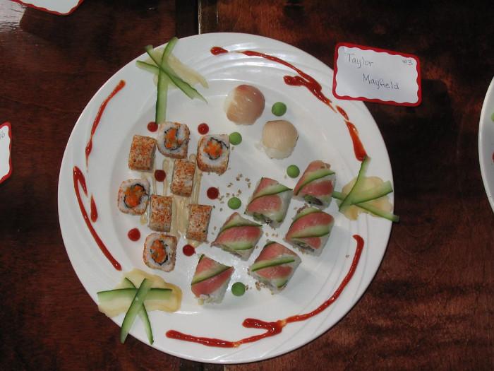 7. Sushi Classes