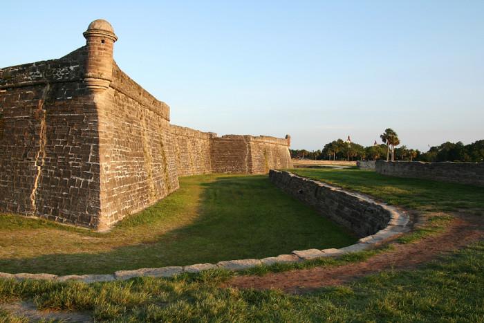 5. Castillo de San Marcos (St. Augustine, FL)