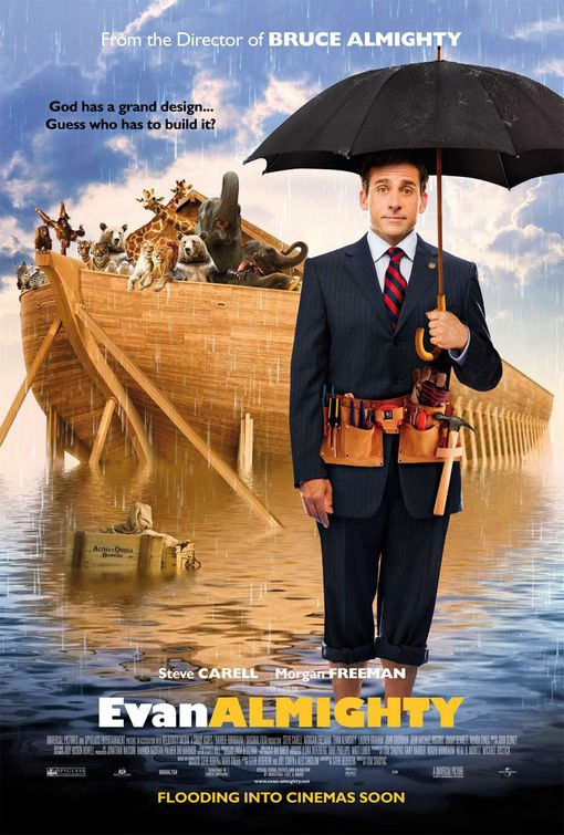 Evan Almighty: Steve Carell, a big boat and Central Virginia. These are a few of my favorite things.