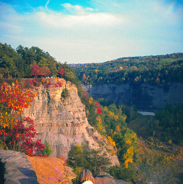 20. We don't have to go all the way out west-- we have our own Grand Canyon tucked away in Pennsylvania.