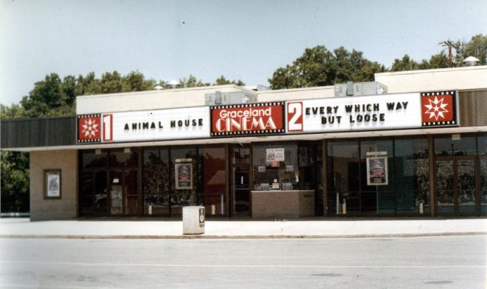 10) Circa 1979: (Columbus) Graceland Cinema