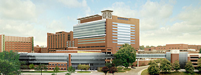3. If you get sick, there's award-winning hospitals right near by.