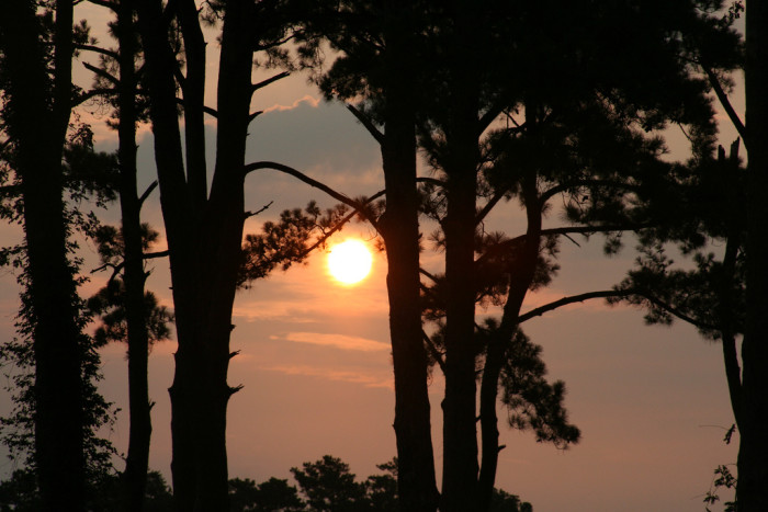 2. The sun rises over Myrtle Beach