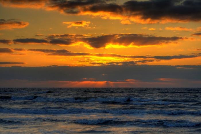 13) Sunrise in Corpus Christi, Texas
