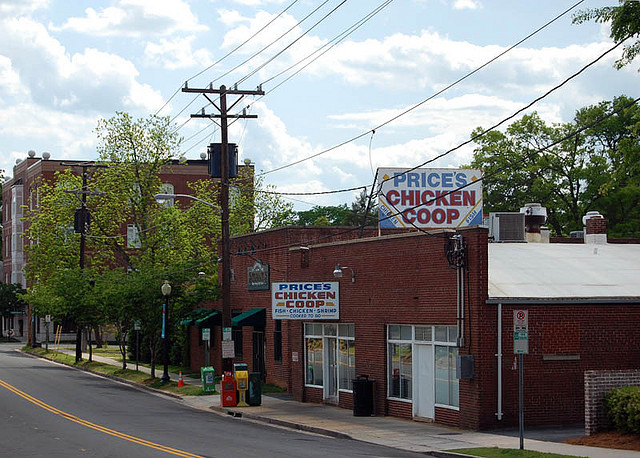 9. Nothing beats the famously fried chicken at Price's Chicken Coop in Charlotte.