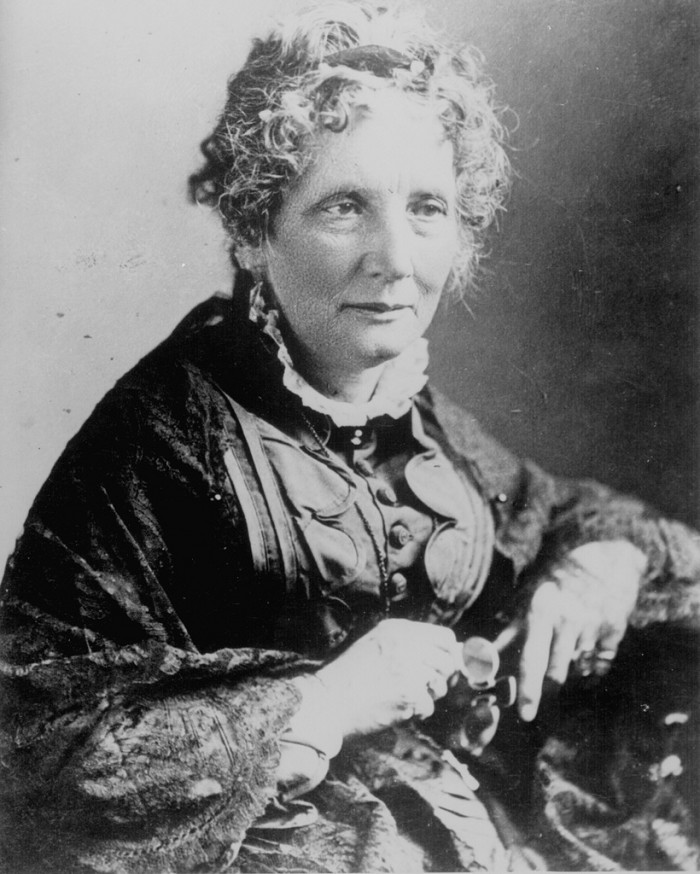 5) Harriet Beecher Stowe: Who showed us that having the courage to tell the hard stories makes all the difference.