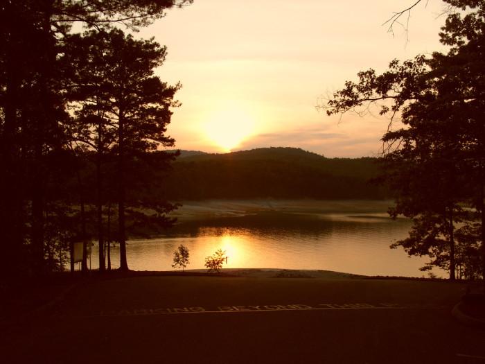 3. Lake Jocassee