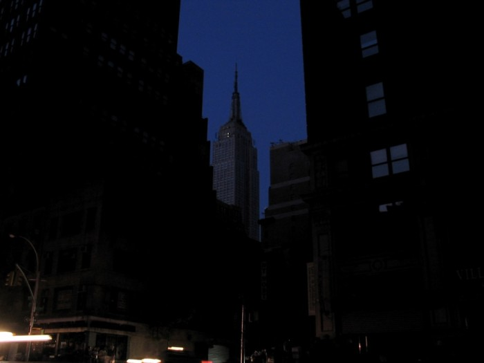 9) When electric faults in Cleveland caused power outages for more than 50 million people, resulting in the Northeast blackout of 2003.