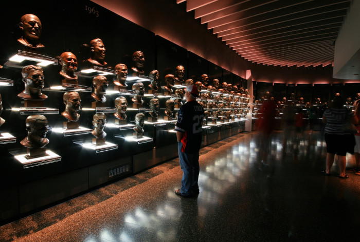 8) Pro Football Hall of Fame (Canton) where we recognize those who should be recognized.