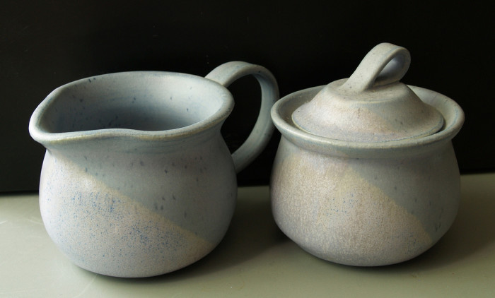 8) Grandpa's Pottery in Wilmington features hand thrown pottery that you can usually observe being made while you shop.