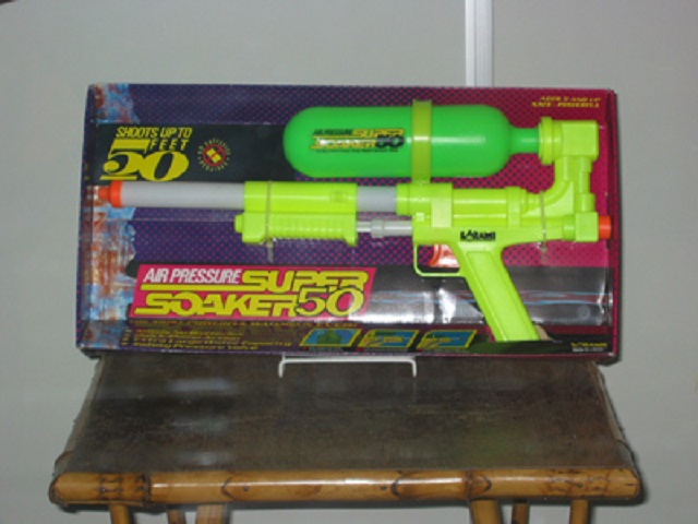 14.) The Super Soaker was invented in Alabama by Lonnie Johnson in 1982.  It was invented by accident and remains one of the top-selling toys today.