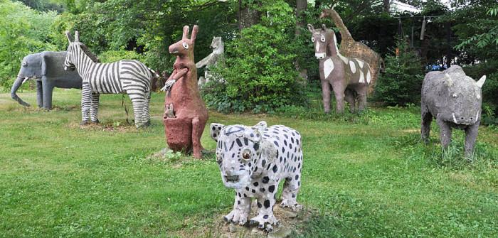 2. Cyril Griglak's Zoo, Perryopolis