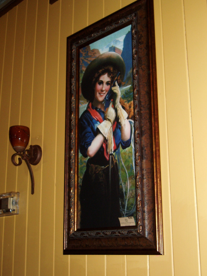 9) Annie Oakley: Because she let the world know that women can be talented with guns too.