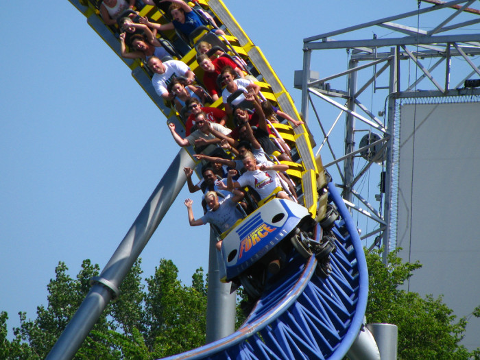 6) You will never be more than just a few hours away from the world's best roller coasters.