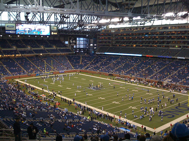 The Lions Always Play on Thanksgiving.