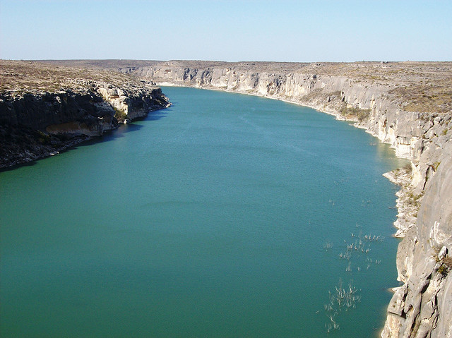10) Amistad Reservoir: an oasis in the desert located in Val Verde County. It's known for its rich cultural history and water recreation.