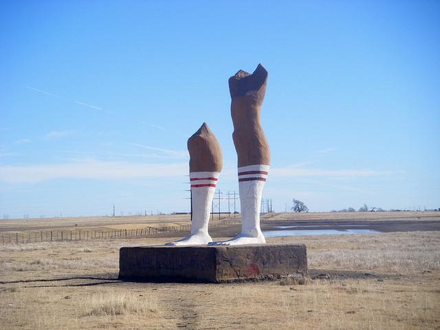 9) Huge Pair of Legs