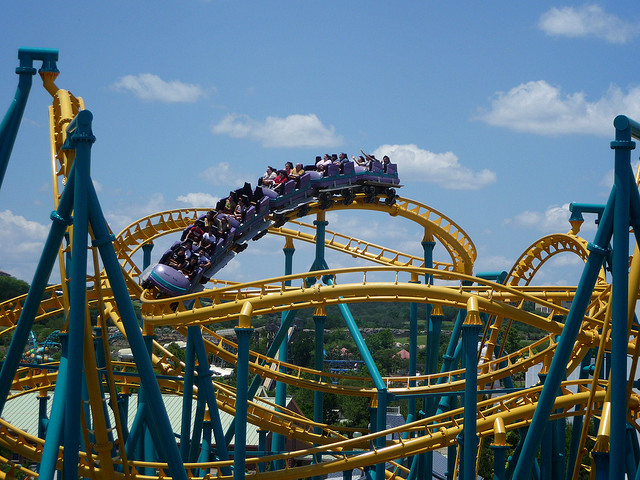 14) For all the thrill-seekers out there, spend the day riding stomach-churning, heart-pounding rollercoasters at Six Flags Fiesta Texas on the northern edge of San Antonio.