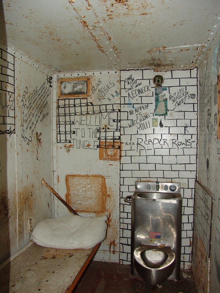 8) At the turn of the 20th century, the prison was doing well and the conditions there were good.